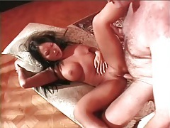 Hairy older man fucks asian up the ass tubes