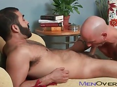 Bearded guy gives a bj and gets fucked tubes