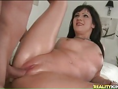 Sexy blowjob and fuck on massage table tubes