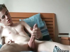 Tall skinny amateur strips and jerks off tubes