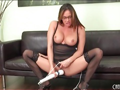 Toys fill the cunt of pornstar tory lane tubes