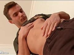 Gorgeous guy in a sensual solo striptease tubes