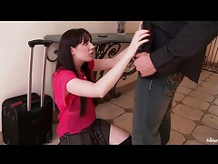 Samantha bentley kisses and blows her man tubes
