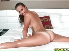 Flexible kelsi monroe sucks big cock sensually tubes