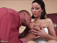 Tongue kissing and big tits fondling tubes