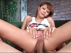 Sexy tattooed japanese girl has hardcore sex tubes