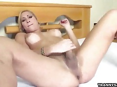 Brunette tranny honey gabriela getting fucked anally tubes