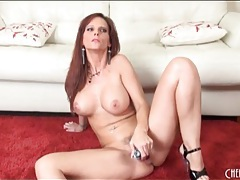 Solo syren de mer sucks dildo and masturbates tubes