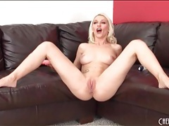 Naked bleach blonde stevie shae masturbates tubes