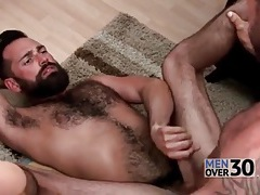 Versatile hairy guys have hot anal sex tubes