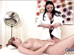 Lesbian massage for her big sexy tits tubes