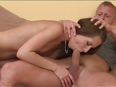 Beautiful skinny slut rides his dick hard tubes