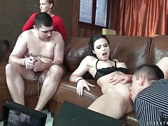 Behind the scenes of a cuckold fuck video tubes