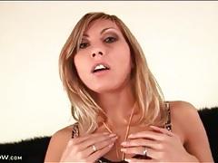 Slutty leopard print lingerie on little boobs girl tubes