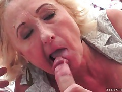 Blowjob from big titty mature outdoors tubes