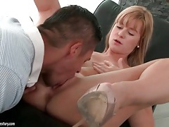 Blown man eats out a small tits beauty tubes