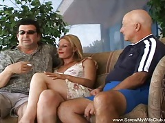 Milf becomes a real swinger tubes