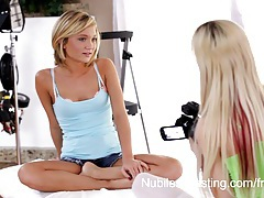 Nubiles casting - tiny teen pussy stretched by big dick tubes