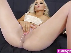 Super blond-haired jenna awesome extreme nylon fetish tubes