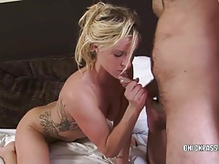 Blonde slut kat stevens takes a dick in her wet pussy tubes