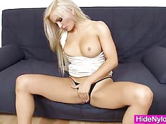 Super blond-haired jenna awesome extreme nylon fetish tubes