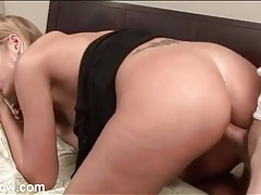 He has a hot milf bent over for sexy fucking tubes