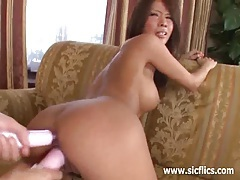 Hot asian babe brutally fisted till she screams tubes