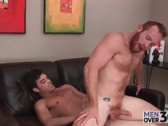 Hairy redhead is a wicked hot anal bottom tubes