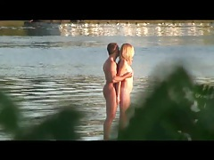 Thesandfly public sex on the shores! tubes