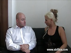 Bossy bitch fist fucked till she squirts tubes