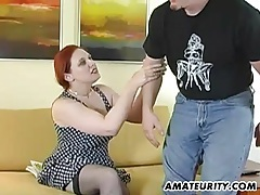 Busty amateur girlfriend home fucking action tubes