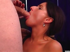 Slender slut with tramp stamp has doggystyle sex tubes
