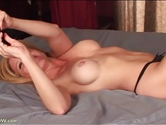 Firm and fantastically sexy body milf masturbates tubes