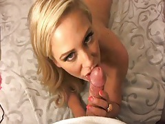 Pov blowjob and doggystyle with cherie deville tubes