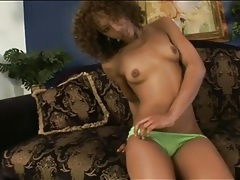 Black chick misty stone poses and gives a footjob tubes