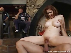Redhead swingers fucks for hubby's approval tubes