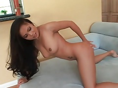 Asian hardcore porn with a cumshot on her ass tubes