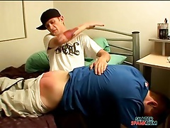 Slapping young gay ass with a ruler tubes
