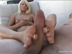 Outdoor footjob from blonde teagan summers tubes