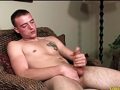 Throbbing cock head looks sexy in close up tubes