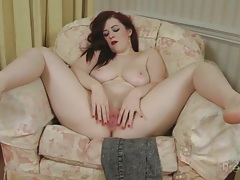 Thick redhead jaye rose fucks cunt with a dildo tubes