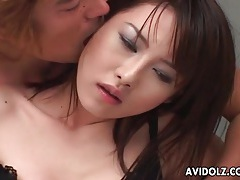 He shows you close up on her japanese pussy tubes