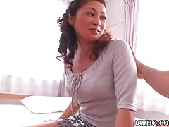 Japanese tits freed from sexy bra tubes
