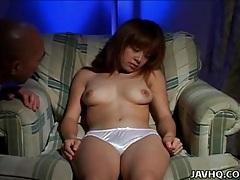 Sweet girl in shiny satin panties masturbates tubes