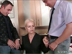 Mature blonde in work clothes fucked hardcore tubes