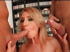 Little tits blonde is horny for some good fucking tubes