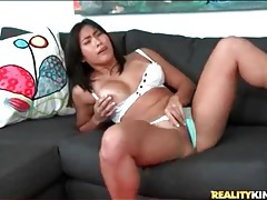 Asian girl with a firm and sexy body strips for you tubes