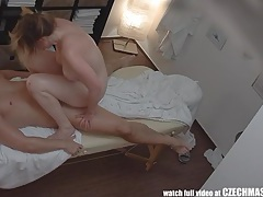Sexy massage turns into hardcore milf fuck with orgasm tubes