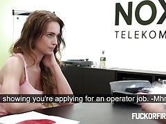 Slut getting fucked hard in a job interview tubes