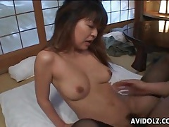 Sex with slut in stockings ends in a creampie tubes